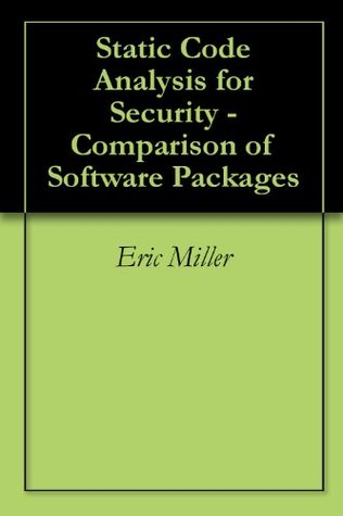 Static Code Analysis for Security - Comparison of Software Packages
