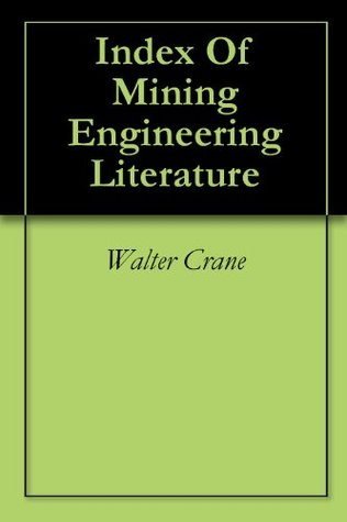 Index Of Mining Engineering Literature