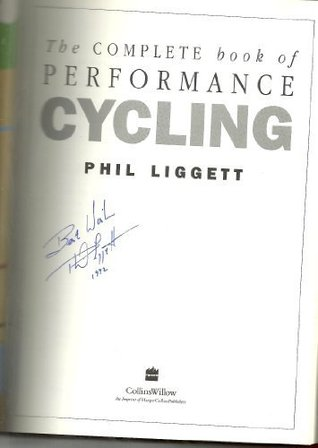 The Complete Book Of Performance Cycling