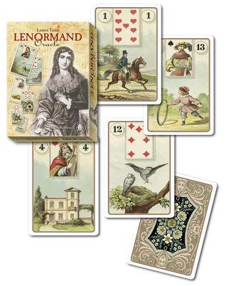 Lenormand Oracle Kit: 36 full colour cards & 160pp book