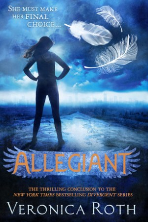 Reading books Allegiant (Divergent, #3)