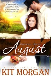 August (Prairie Grooms, #1) Book Pdf