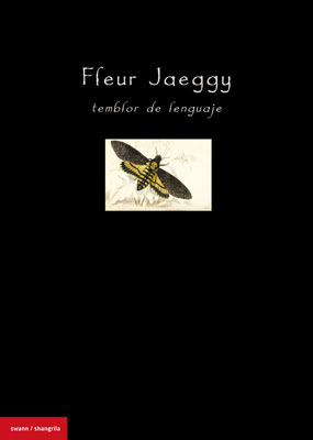 Fleur Jaeggy. Temblor de lenguaje