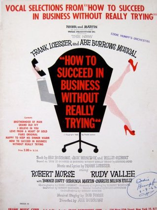 """Vocal Selections from """"How to Succeed in business Without Really Trying"""""""