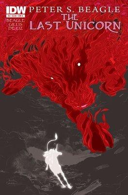 The Last Unicorn. Issue #4, Cover B