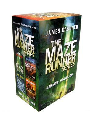The Maze Runner Series  (The Maze Runner #0.5, #1-3)