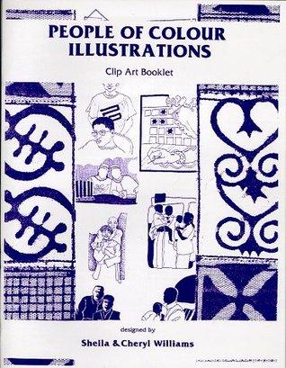 People of Colour Illustrations Clip Art Book, Vol. 1, No. 1