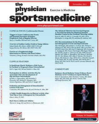The Advanced Throwers Ten Exercise Program: A New Exercise Series for Enhanced Dynamic Shoulder Control in the Overhead Throwing Athlete (DOI:10.3810/psm.2011.11.1943) ... (The Physician and Sportsmedicine Book 39)
