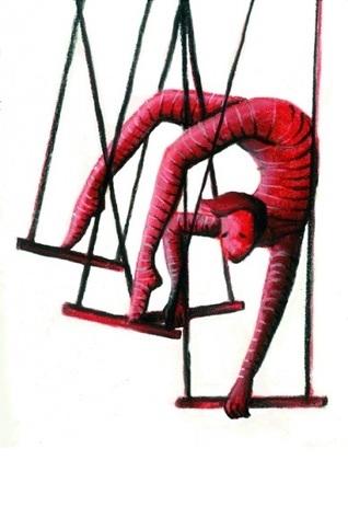 Un artista del trapecio