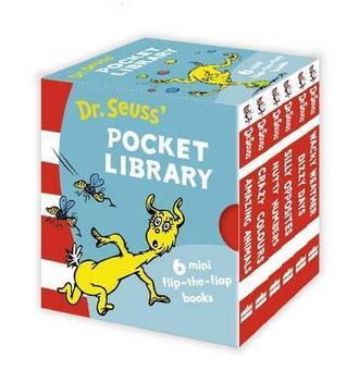 Dr. Seuss' Pocket Library 6 mini flip-the-flap books