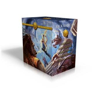 The Heroes of Olympus Boxed Set (The Heroes of Olympus, #1-5)