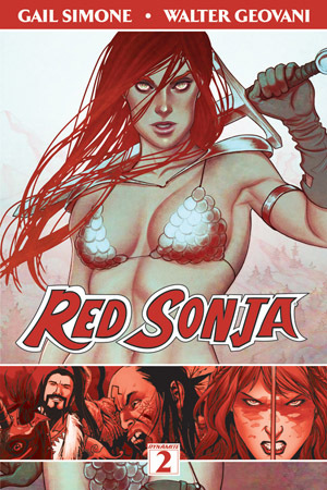 Red Sonja, Vol. 2: The Art of Blood and Fire