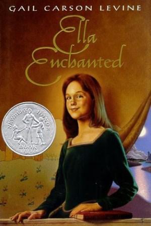 Reading books Ella Enchanted
