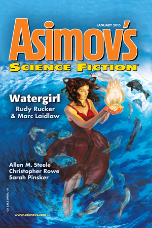 Asimov's Science Fiction, January 2015