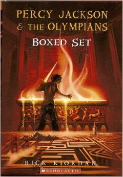 Percy Jackson and the Olympians Boxed Set (Percy Jackson and the Olympians, #1-4)