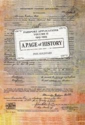 A Page of History Volume II Passport Applications 1915-1925 Pdf Book