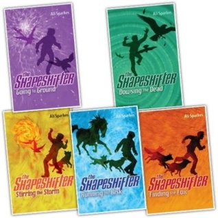 Finding the Fox / Running the Risk / Going to Ground / Dowsing the Dead / Stirring the Storm (Shapeshifter #1-5)