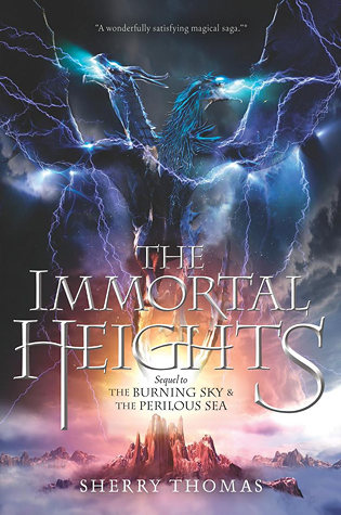 #Printcess review of The Immortal Heights by Sherry Thomas