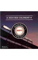 ESPN Baseball Tonight 2014 Calendar
