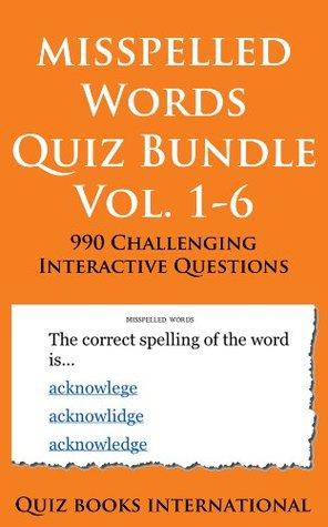 Misspelled Words Quiz - Super Bundle