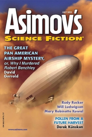 Asimov's Science Fiction, July 2015