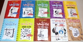 Diary of a Wimpy Kid Collection #1-8, DIY & Movie Guide