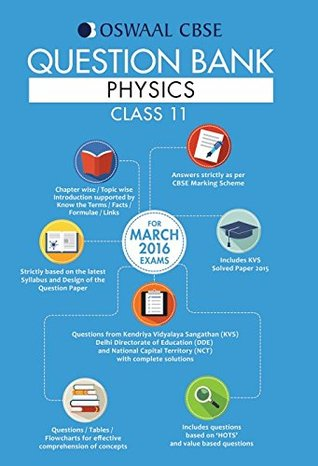 Oswaal CBSE Question Bank With Chapter wise Solutions for Class 11 Physics