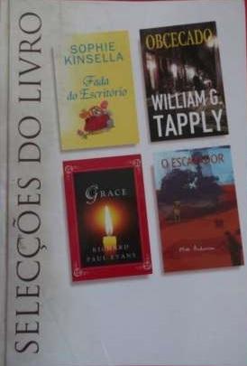 Selecções do Livro: Fada do Escritório / Obcecado / Grace / O Escavador