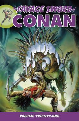 The Savage Sword of Conan, Volume 21