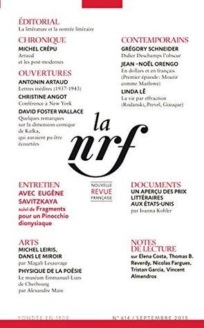 La Nouvelle Revue Française N° 614