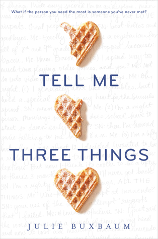 Tell Me Three Things Review: (1) Adorable, (2) Grief and Family, (3) WAFFLES