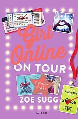 Girl Online On Tour Boek omslag