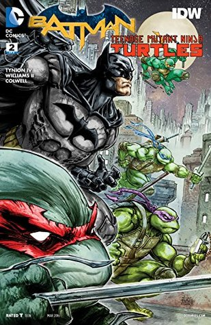 Batman/Teenage Mutant Ninja Turtles #2