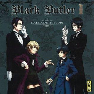 Calendrier Black Butler 2016