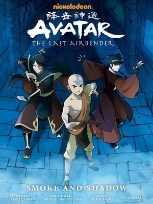 Avatar: The Last Airbender - Smoke and Shadow Book Cover