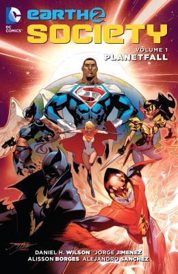 Earth 2: Society Vol. 1: Planetfall