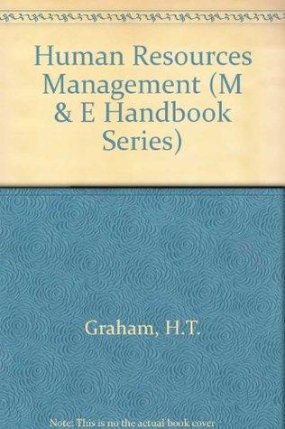 Human Resources Management (M & E Handbook Series)