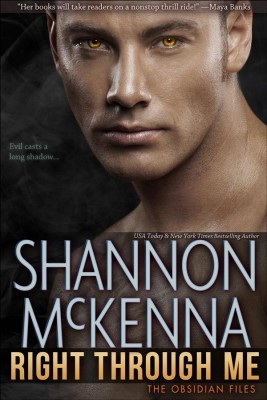 Right Through Me (The Obsidian Files, #1)