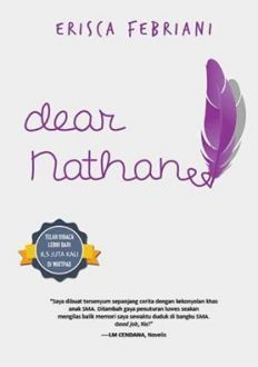 Image result for novel dear nathan