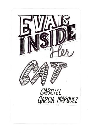 Eva is Inside Her Cat