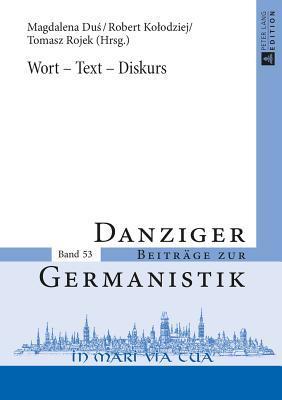 Wort - Text - Diskurs
