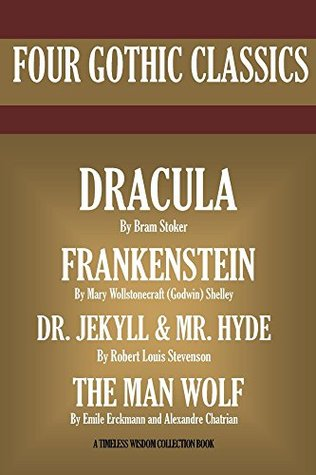 Dracula, Frankenstein, Dr. Jekyll And Mr. Hyde, The Man Wolf