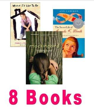 The Girls Pack: Girls Rule; Where I'd Like to Be; Mockingbird; the Secret Life of Amanda K Woods; Anastasia Krupnik; Ella Enchanted; Girls Rule; Eleven; Picture of Hollis Woods (8 Pack)