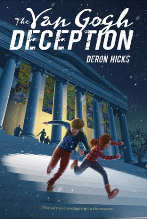 The Van Gogh Deception by Deron R. Hicks | Featured Book of the Day | wearewordnerds.com