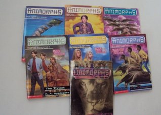Animorphs Book Set (7) : #1 ,#6,#13,#21-22,#24: The Invasion - The Capture - The Threat - The Suspicion - The Solution - The Change - Alternamorphs: The First Journey (An Unofficial Box Set)