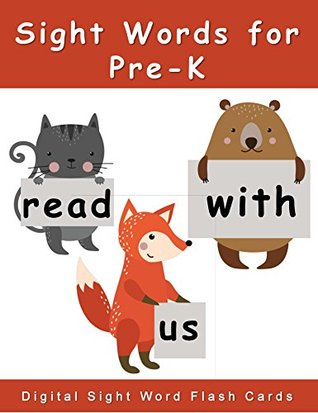 Sight Words for Pre-K: Digital Sight Words Flash Cards