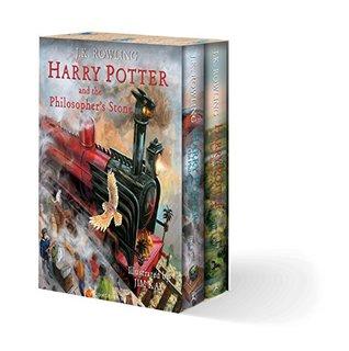 Harry Potter Illustrated Box Set (Harry Potter #1-2)