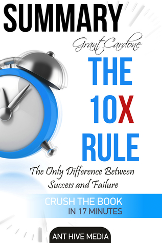 Grant Cardone's The 10X Rule: The Only Difference Between Success and Failure | Summary
