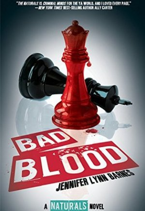 Book cover of Bad Blood by Jennifer Lynn Barnes