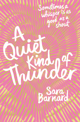 Image result for a quiet kind of thunderbook cover